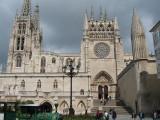 Facade of the Burgos Cathedral
