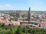 View of Burgos from the Parque del Castillo