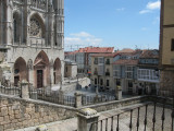 Another view of the Burgos Cathedral