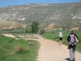 The approach to Alto de Mostelares
