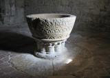 Romanic baptismal basin circa XIII C