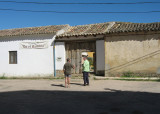 Outside view of the albergue in Boadilla