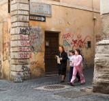 Via di Monti and Via del Neofiti