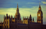 Parliment Buildings and Big Ben at Sunset