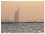 'Burj-Al-Arab'  Twilight
