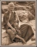 A lady in Thirupathi