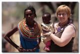 Het leven in Shaba Kenia