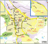 Map of Pleven