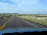 The road from Marfa to Presidio to Big Bend