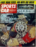 Sports Car Graphic (Issue July 1965) Porsche Fabulous Six!  240 Horses from only 2 Liters