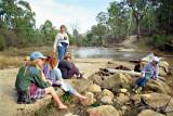 Wolgan River crossing 1992