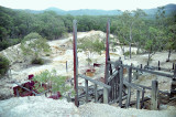 Remains of Silver Peak Mine