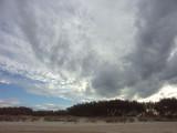 Big sky – to landward