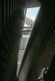Glimpse of the bridge at interval