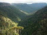Valley below Fitzroy Falls