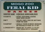 No feral kids exhibited