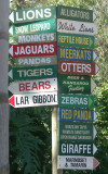 Mogo Zoo Signpost