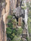 Precariously placed rock