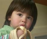 Charlie and banana