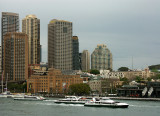 Ferries in Sydney Cove