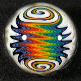 Rainbow Thunderbolt  Size: 1.7  Price: SOLD