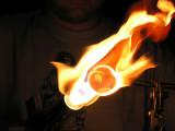 Check out THESE flaming shots, WOOHOOO!!