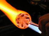 John, hot orange vortex swirl