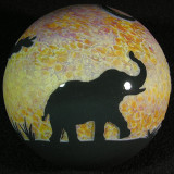 Elephants  Size: 3.32  Price: SOLD