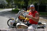 Hulk Hogan on a Chopper