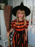 Tonight I shall fly my broom and collect all the candy I can!