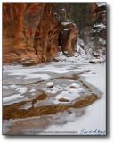 Oak Creek Canyon - West Fork in Snow III