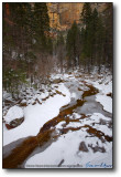 Oak Creek Canyon - West Fork in Snow IV