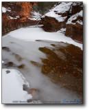 Oak Creek Canyon - West Fork in Snow V