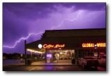 Arizona Monsoon Lightning : A Bit of a Rush (Coffee Rush)