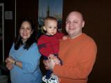 Expectant Jennifer, Elliott and Edwin.......