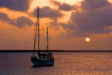 The Sun Setting on our 4th Bonaire Trip