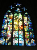 Stained Glass at the Praguan Castle Cathedral