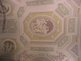 Ceiling Paintings inside the Vatican