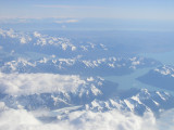 Andes Mtns- view from plane