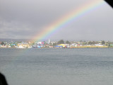 Rainbow Over Puerto Natales