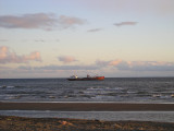 The Strait of Magellan out of Punta Arenas