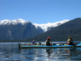 Sea Kayaking near the Hanging Glacier