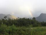 Rainbow on the Sea Kayak Section