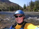 Middle Fork, Salmon in Idaho--Self Portrait