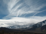 Dancing Clouds Over the Owen's Valley