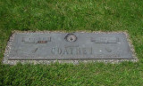 This is a picture of the gravestone of my grandfather. He was terribly simple, decent & good. I loved him very much. His grave is in Lincoln Memorial Park, Lincoln, Lancaster County Nebraska. I was proud to be a pallbearer at his funeral, as well.