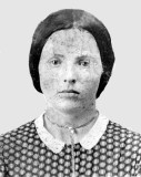 Margaret Jane Coatney was the fifth of six children born to Archibald Coatney & his wife, Madilla McIntosh Coatney. On 26 January 1859 in Scott County Indiana she married Nicholas Skeel Belch. Together this couple would have four children. This photograph was sent to me by Donald Donna Forney Clark. She is in possession of the original.