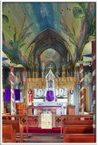 St. Benedict's Painted Church Interior
