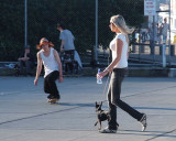 Skater and Blonde