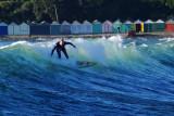 Surfing at Titahi Bay